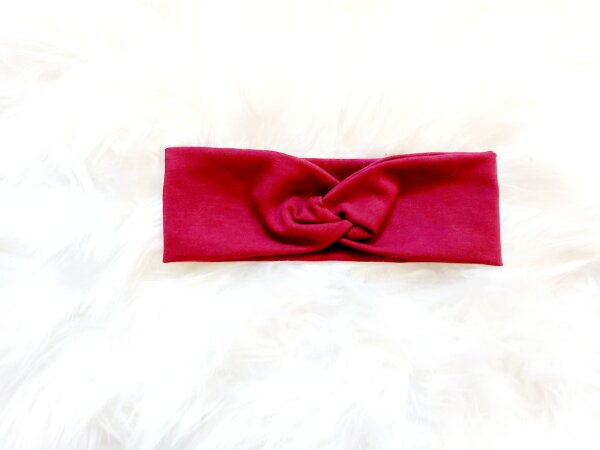 Haarband bordeaux