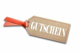 Gutschein, 15,00 €